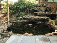 千叶花园一楼 送200方前后花园带鱼池 三房二厅二卫