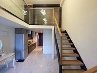 新动力旁奥斯汀复式公寓2房1厅家私家电齐首次出租1300元/月